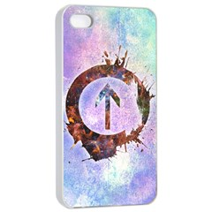 Above The Influence 2 Apple Iphone 4/4s Seamless Case (white)