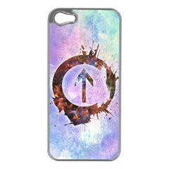 Above The Influence 2 Apple Iphone 5 Case (silver)