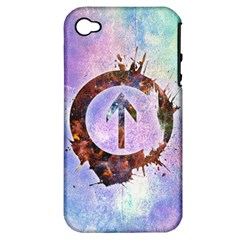 Above the Influence 2 Apple iPhone 4/4S Hardshell Case (PC+Silicone)