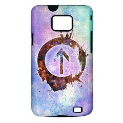 Above the Influence 2 Samsung Galaxy S II Hardshell Case (PC+Silicone)