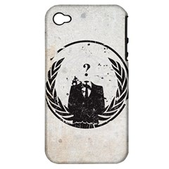 Anon Apple Iphone 4/4s Hardshell Case (pc+silicone)