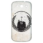 Anon Samsung Galaxy S3 S III Classic Hardshell Back Case Front