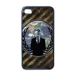World Wide Anonymous Apple Iphone 4 Case (black)
