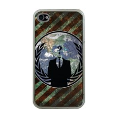 World Wide Anonymous Apple iPhone 4 Case (Clear)