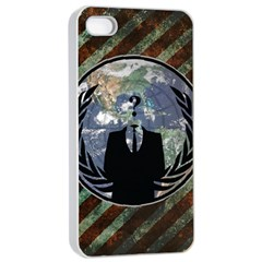 World Wide Anonymous Apple iPhone 4/4s Seamless Case (White)