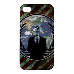 World Wide Anonymous Apple iPhone 4/4S Premium Hardshell Case
