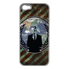 World Wide Anonymous Apple Iphone 5 Case (silver)