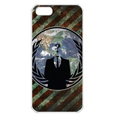 World Wide Anonymous Apple iPhone 5 Seamless Case (White)