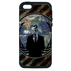 World Wide Anonymous Apple Iphone 5 Hardshell Case (pc+silicone)