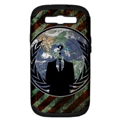 World Wide Anonymous Samsung Galaxy S III Hardshell Case (PC+Silicone)