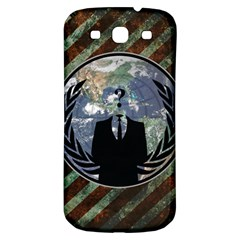 World Wide Anonymous Samsung Galaxy S3 S III Classic Hardshell Back Case