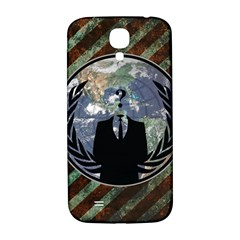 World Wide Anonymous Samsung Galaxy S4 I9500/I9505  Hardshell Back Case