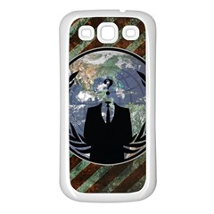 World Wide Anonymous Samsung Galaxy S3 Back Case (white)