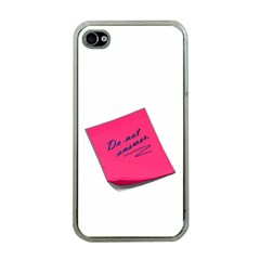 Post It Apple Iphone 4 Case (clear)