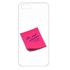 Post It Apple Iphone 5 Seamless Case (white)