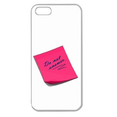 Post It Apple Seamless Iphone 5 Case (clear)