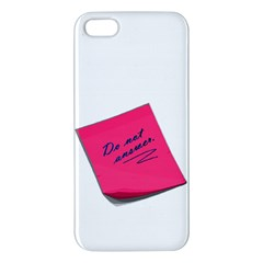 post-it iPhone 5 Premium Hardshell Case