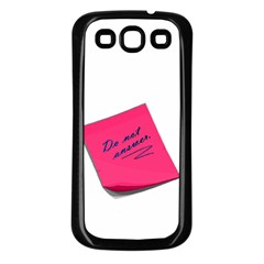 post-it Samsung Galaxy S3 Back Case (Black)