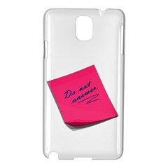 Post It Samsung Galaxy Note 3 N9005 Hardshell Case