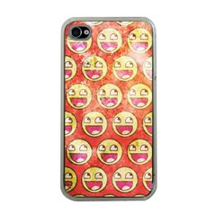 Epic Face Apple iPhone 4 Case (Clear)