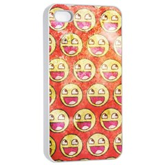 Epic Face Apple Iphone 4/4s Seamless Case (white)