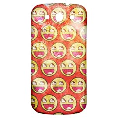 Epic Face Samsung Galaxy S3 S Iii Classic Hardshell Back Case