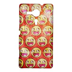 Epic Face Sony Xperia Sp M35H Hardshell Case