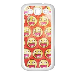 Epic Face Samsung Galaxy S3 Back Case (white)