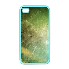 Green Grunge Apple Iphone 4 Case (color)