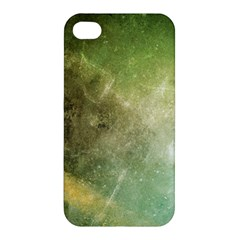 Green Grunge Apple Iphone 4/4s Premium Hardshell Case