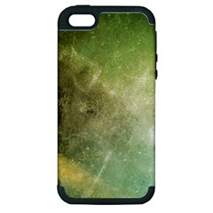 Green Grunge Apple iPhone 5 Hardshell Case (PC+Silicone)