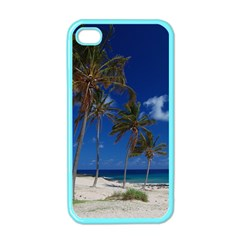 Relaxing on the Beach Apple iPhone 4 Case (Color)