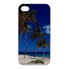 Relaxing on the Beach Apple iPhone 4/4S Hardshell Case