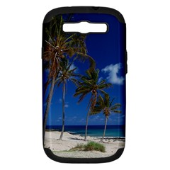 Relaxing On The Beach Samsung Galaxy S Iii Hardshell Case (pc+silicone)