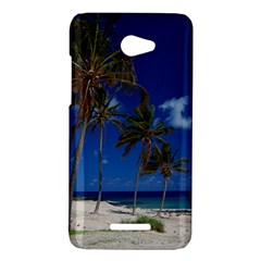 Relaxing on the Beach HTC X920E(Butterfly) Case