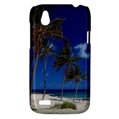 Relaxing on the Beach HTC T328W (Desire V) Case