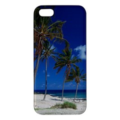 Relaxing on the Beach iPhone 5 Premium Hardshell Case