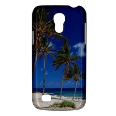 Relaxing on the Beach Samsung Galaxy S4 Mini Hardshell Case