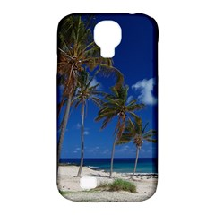 Relaxing on the Beach Samsung Galaxy S4 Classic Hardshell Case (PC+Silicone)
