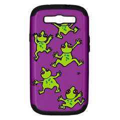 Sticky Things Samsung Galaxy S Iii Hardshell Case (pc+silicone)