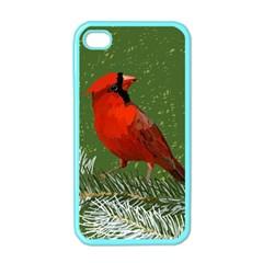 Cardinal Apple iPhone 4 Case (Color)
