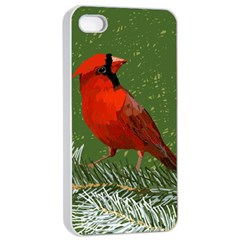 Cardinal Apple Iphone 4/4s Seamless Case (white)