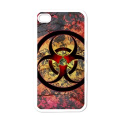 Biohazard Apple Iphone 4 Case (white)