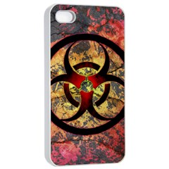 Biohazard Apple Iphone 4/4s Seamless Case (white)