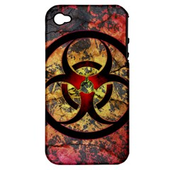 Biohazard Apple iPhone 4/4S Hardshell Case (PC+Silicone)