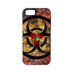 Biohazard Apple iPhone 5 Classic Hardshell Case (PC+Silicone)