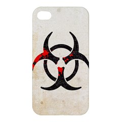 Biohazard Symbol Apple iPhone 4/4S Hardshell Case