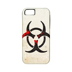 Biohazard Symbol Apple iPhone 5 Classic Hardshell Case (PC+Silicone)