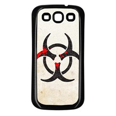 Biohazard Symbol Samsung Galaxy S3 Back Case (Black)