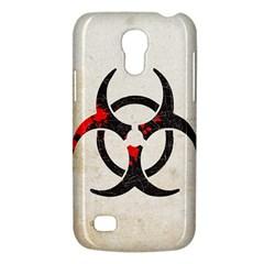 Biohazard Symbol Samsung Galaxy S4 Mini Hardshell Case
